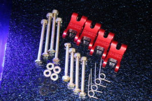 DRIVE ARM SET SPRING LOADED (with Bolts, Nuts and Springs)